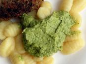 Pesto aguacate brócoli, frutos secos