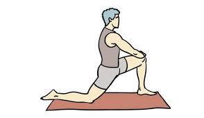 Estiramiento del músculo psoas