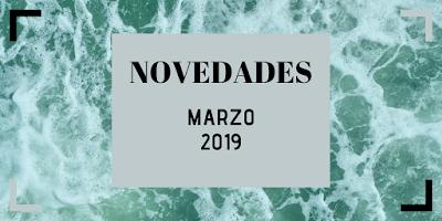 Novedades:Marzo 2019