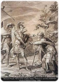 Las arpías, en la simbología zoomórfica fantástica