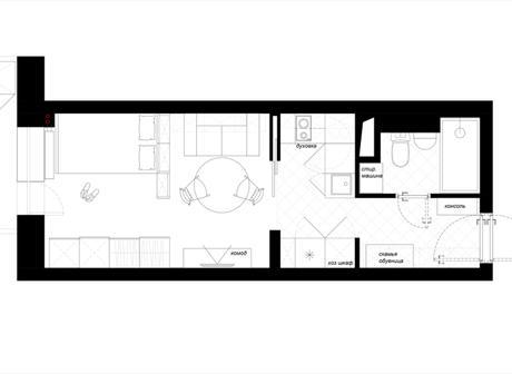 Un proyecto impresionante para una vivienda de 25m2