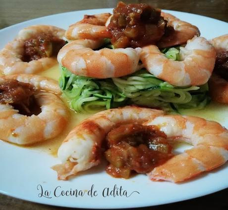 Espaguetis de calabacín (Dieta)