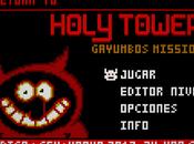 Puzles, modos radastanianos editor niveles Return's Holy Tower para ZX-UNO