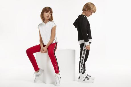 Moda primavera verano 2019 de Karl Lagerfeld kids