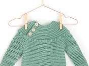 Jersey Crochet Prehistoric Patrón-