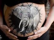 Bellypainting gran regalo para embarazada
