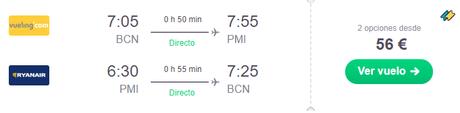 OFERTA FLASH: Escápate este finde a Mallorca por 192€!!!