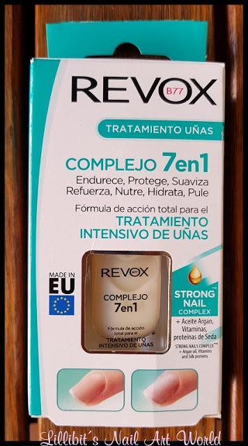 I like... Complejo 7 en 1 (Tratamiento intensivo de uñas) de Revox