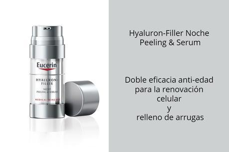 Hyaluron-Filler Noche Peeling & Serum Doble eficacia anti-edad