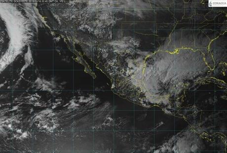 Prevén tormentas con relámpagos y granizo en San Luis Potosí