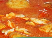 Albóndigas atún salsa marinera