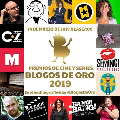 Gala virtual de entrega de premios Blogos de Oro 2019