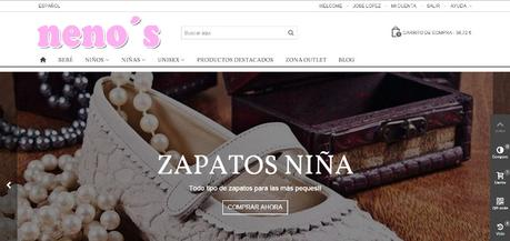 Tiendas online hechas con Prestashop - nenos
