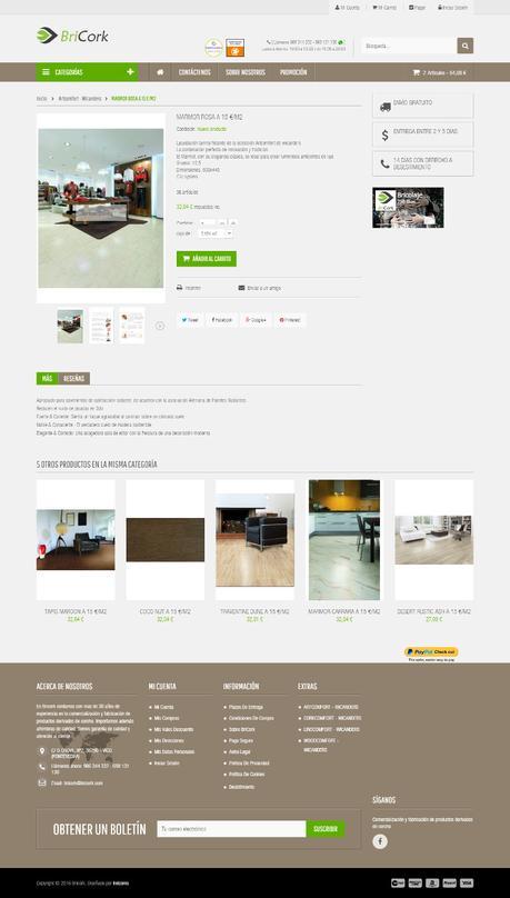 Tiendas online hechas con Prestashop - bricork2