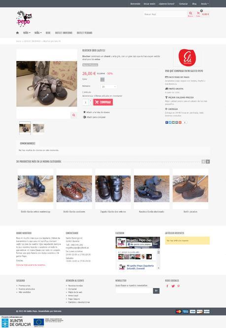 Tiendas online hechas con Prestashop - mi gatito2