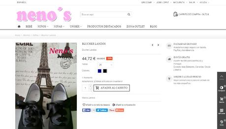 Tiendas online hechas con Prestashop - nenos2