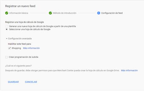 Google shopping en PrestaShop - Como integrarlo
