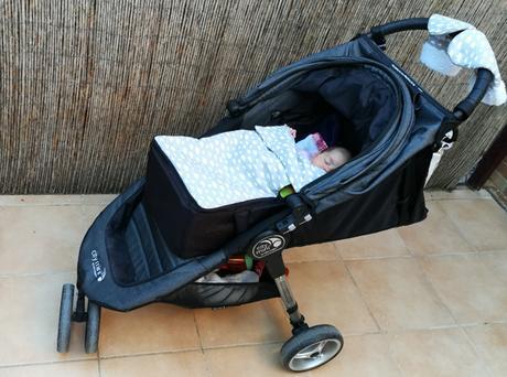 Sillas de paseo desde el nacimiento usando capazo blando
