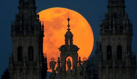 La superluna de marzo 2.019.