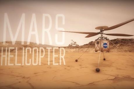 La NASA quiere mandar un pequeño helicóptero a Marte