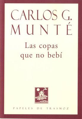 Carlos G. Munté: «La poesía es caminar siempre dos metros por delante de tu armadura»