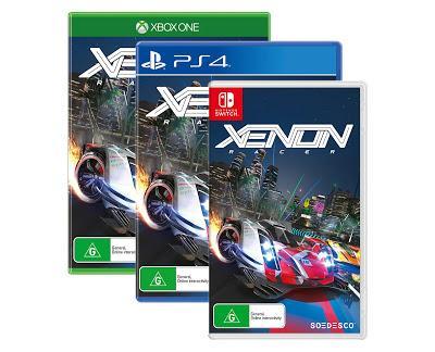 Las carreras arcade y futuristas en Xenon Racer salen de boxes