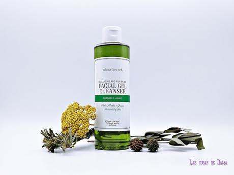 Alma Secret Gel Limpiador Facial Equilibrante  Purificante cosmética natural skincare beauty belleza limpieza facial