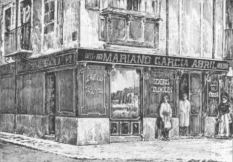 Relato costumbrista en una tienda de ultramarinos de Valladolid a principios del siglo XX.