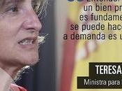 Teresa Ribera: «personalmente prohibiría caza tauromaquia»