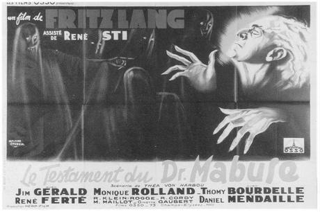 El testamento del Dr. Mabuse (Fritz Lang 1933)