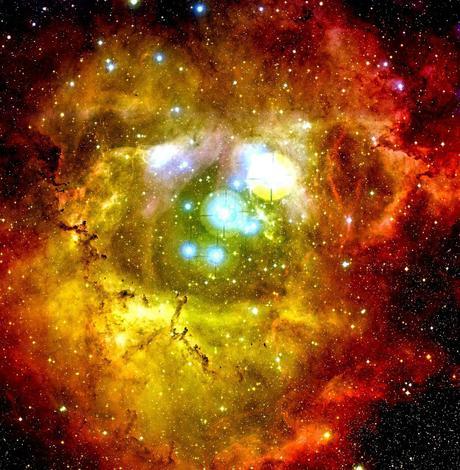 En el corazón de la Nebulosa Roseta