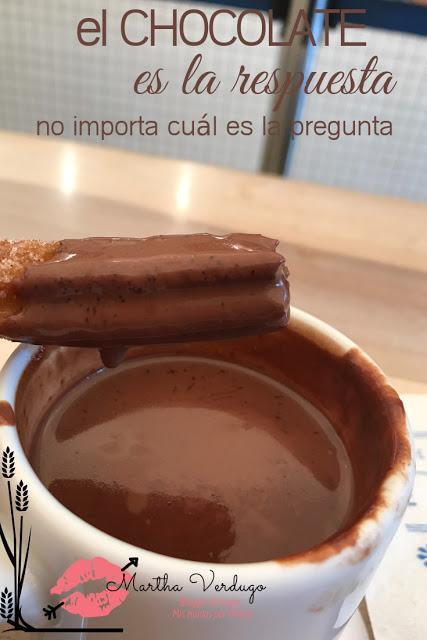 El Moro y sus churros con chocolate (Dulce tentación)