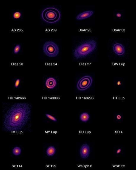Una visión sin precedentes del nacimiento de planetas