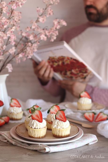 Cupcakes de Cheesecake o Mini Tartas de Queso. Cookcakes de Ainhoa