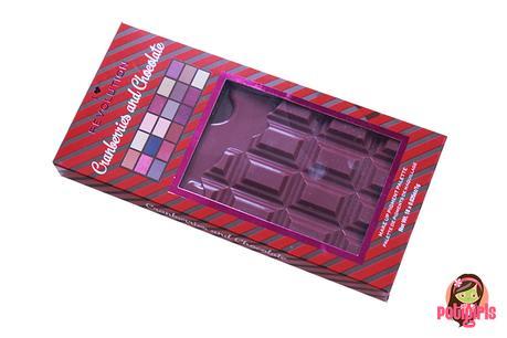 Paleta Chocolate & Cranberries de I Heart Revolution