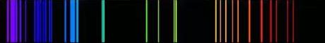 Espectro oxígeno