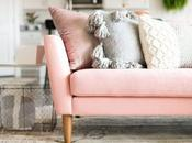 Touch Pink. Como decorar sofa rosa