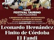 Presentado festival taurino benéfico lucena, previsto para próximo mayo