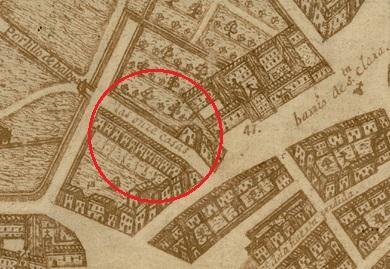 La desaparecida calle de las Once Casas (Tirso de Molina)