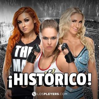Video :Ronda Rousey  y  Becky Lynch  y Charlotte flair  son llevadas a cárcel