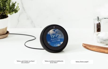 Amazon Echo Spot, el Altavoz Inteligente con pantalla