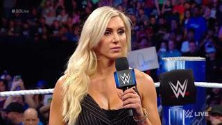 Charlotte flair cuenta como les informaron el evento principal  en Wrestlemania 35