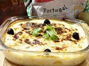 Bacalao nata portugués (bacalhau natas)
