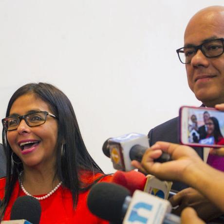 Los hermanos Rodríguez en el Eurobuilding Guyana