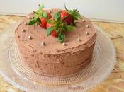 Tarta chocolate almendra trufa