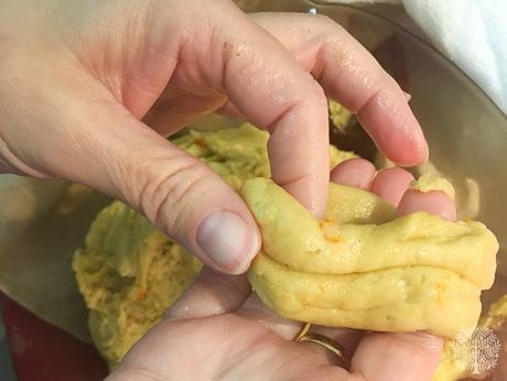 Roscos fritos de sartén, receta de Sierra Mágina
