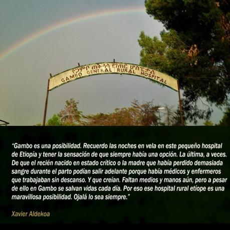 Xavier Aldekoa: Faltan medios pero a pesar de ello en Gambo se salvan vidas cada día