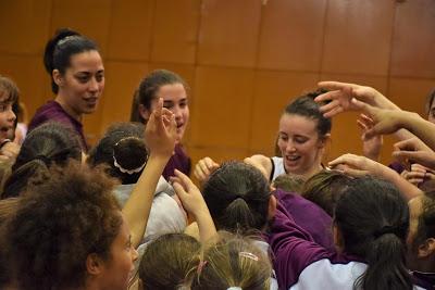 Galería de emociones del Bàsquet Femení Sant Adrià-Perfumerías Avenida
