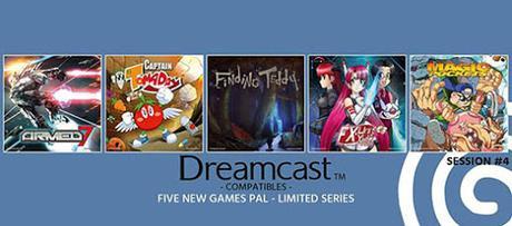 La conversión de Armed 7 encabeza el desembarco de 5 títulos nuevos para Dreamcast