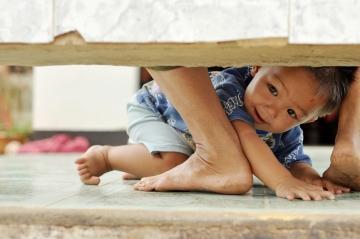 El niño movidito o inquieto